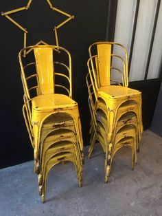 Chaise Industrielle 5francs. More Information. More Information. Vintage  French Tolix Chairs