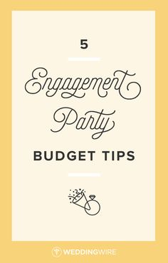 5 Engagement Party Budget Tips - Throwing an engagement party? Find out how to not break the bank with these tips on 5 Engagement Party Budget Tips - Throwing an engagement party? Find out how to not break the bank with these tips on Engagement Party Planning, Engagement Party Gifts, Engagement Celebration, Engagement Party Decorations, Engagement Party Invitations, Diy Party Decorations, Wedding Engagement, Wedding Planning, Engagement Ideas