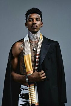 Black Culture, black-boys: Nick Young by Carlos Serrao African Clothing For Men, African Men, African Beauty, African Fashion, African Dress, Afro Punk Fashion, Dolly Fashion, Mens Fashion, Hot Black Guys