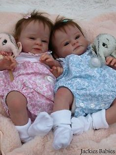 Jackies Babies~One of twins~Reborn baby girl~Marc~Olga Auer~new sculpt~ltd edtn Reborn Baby Dolls Twins, Bb Reborn, Silicone Reborn Babies, Silicone Baby Dolls, Newborn Baby Dolls, Reborn Baby Girl, Reborn Dolls, Baby Dolls For Sale, Life Like Baby Dolls