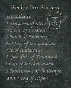 Recipe for Success via Match Capital Ventures