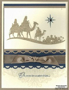 Simple Come to Bethlehem by Michelerey - Cards and Paper Crafts at Splitcoaststampers