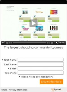 The largest shopping community! Lyoness