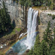 Vernal falls, yosemite, ca
