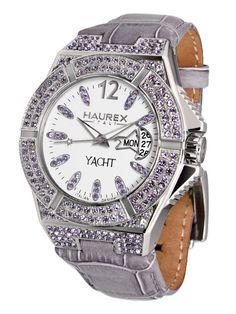 Haurex  Women's Yacht Lady Purple Watch