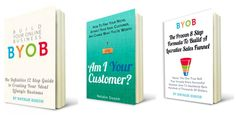 My BYOB Build Your Online Business Series of books is designed to help you understand exactly what it takes to find your ideal customers, build and market your business products online and create a lucrative sales funnel that keeps on serving you every month. Check them out http://suitcaseentrepreneur.com/bizshop