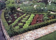 "Potager. Image from New Zealand Potager - The Ornamental Vegetable Garden"" by Diana Anthony"