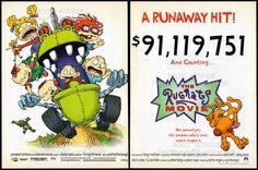 THE RUGRATS MOVIE__Original 1999 Trade Print AD / movie promo__ ...