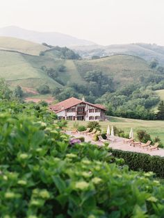 Auberge Ostapé, Basque Country, France - a country house with the facilities and the comfort of a 5 star hotel Vacation Wishes, Vacation Destinations, Aquitaine, Beautiful Hotels, Beautiful Places, The Places Youll Go, Places To Go, Villas, Saint Junien