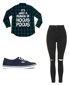 """""""Fall"""" by sophie5303 ❤ liked on Polyvore featuring Topshop and Vans"""