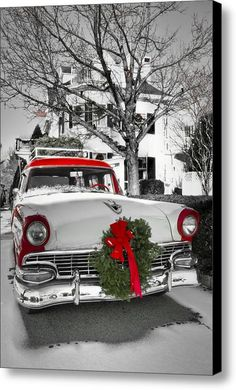 Home For The Holidays Canvas Print Art By Brenda Giasson