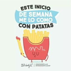 Me lo como con patatas Funny Images, Funny Photos, Hello Quotes, Happy Week, Frases Humor, Wonder Quotes, Life Words, Its A Wonderful Life, Morning Quotes