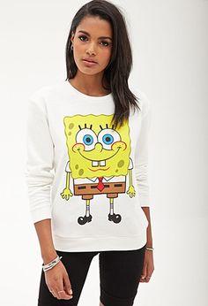 SpongeBob Squarepants Sweatshirt   Forever 21 - 2055880125