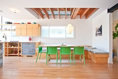 Venice House by Design, Bitches Venice House, Residential Architecture, Cool Kitchens, House Design, Modern, Table, Venice California, Raw Materials, Furniture