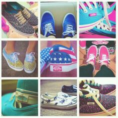 vans girls