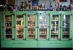 Brilliant classic display fridge