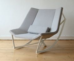 Sway Rocking Chair by Markus Krauss is a Rocking Chair Built for Two - TEVAMI