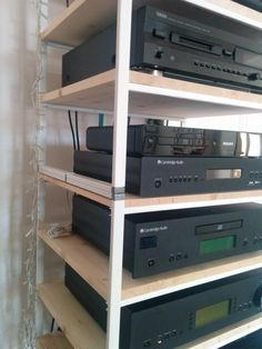 IKEA Antonius multi-tiered hi-fi rack - IKEA Hackers