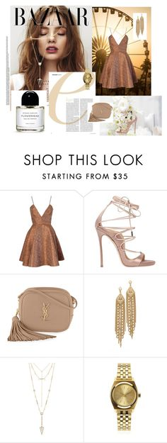 """"" by nina16latinoamericana ❤ liked on Polyvore featuring Joana Almagro, Dsquared2, Yves Saint Laurent, Capwell + Co, House of Harlow 1960 and Nixon"