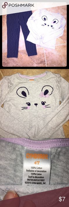 Super cute 4T girls outfit BabyGap pants and Gymboree top. Excellent condition. Smoke free home. Pants have pockets. GAP & Gymboree Matching Sets