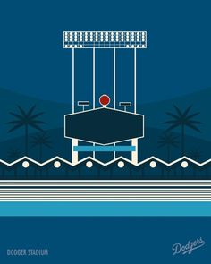 Los Angeles Dodgers Stadium London-based illustrator Marcus Reed has created a wonderful collection of minimalist illustrations of Major League Baseball stadiums for the RareInk art collective. The...