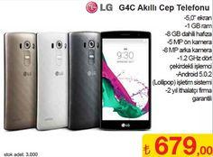 Lg g4c akıllı telefon şok markette indirimli olarak satılıyor olacak