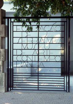 Entrada do Museu de Serralves www.webook.pt #webookporto #porto #arquitectura