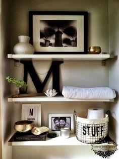 Decor Bathroom Shelves