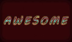 Create Awesome Text with Shape Burst Stroke in Photoshop