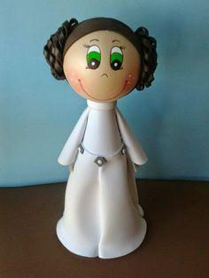 La mar de Cosucas: Fofucha princesa Leia