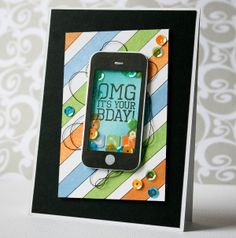 I scrap my way: Text Me - Clearly Besotted Guest Design