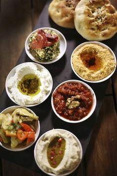 turkish meze sharing platter bar food - Google Search