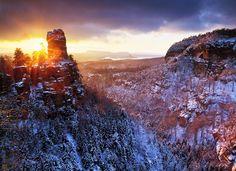Największe atrakcje Czeskiej Szwajcarii (Ceske Svycarsko)
