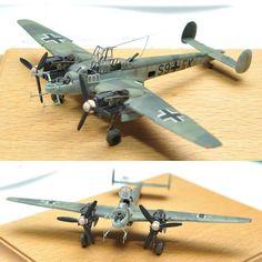 Beautiful!!! Messerschmitt Bf 110 1/88. Modeler SLUNÍČKO Václav #scalemodel #plastimodelismo #usinadoskits #udk #miniatura #miniatur #miniature #maqueta #plasticmodel #plastimodelo #hobby
