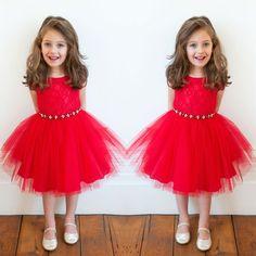 Goedkope Hete nieuwe meisjes mouwloze kant gaas rode kerst jurk prinses jurk voor kinderen meisjes rapunzel jurk kerst kostuum #1jt, koop Kwaliteit jurken rechtstreeks van Leveranciers van China: