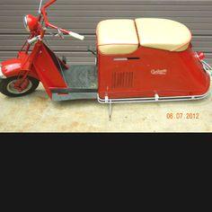 Cushman scooter