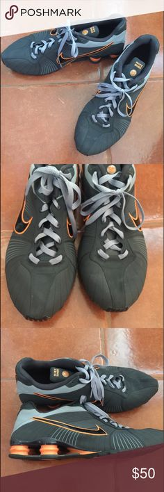 1a6d9f0997c7 Men s Nike Shock These Men s Nike Shock Athletic Shoes are in excellent  Pre-Loved condition