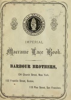 Imperial macramé lace book  http://www.cs.arizona.edu/patterns/weaving/books/mlb_1878.pdf