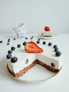Healthy Sweets, Healthy Recipes, Panna Cotta, Recipies, Cheesecake, Food And Drink, Meals, Baking, Ethnic Recipes
