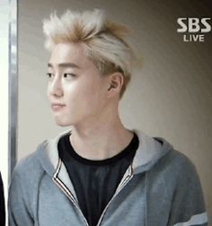 when suho likes what he sees (gif)