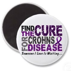 Find a cure for Crohns!