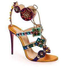 Women s Christian Louboutin Kaleikita Lace-Up Sandal ( 1 ac56eb32f4