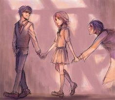 James, Lily, and Snape...wow, a book could be written just by looking at this