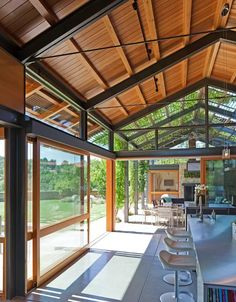 Home Architecture Plan Metal Buildings 16 Ideas Steel Frame House, Steel House, Architecture Plan, Residential Architecture, Future House, Lake Flato, Casas Containers, Modern Barn, Metal Buildings