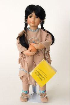 Collectible Limited Edition Porcelain soft body doll Many Stars by Linda Mason for Georgetown Collection