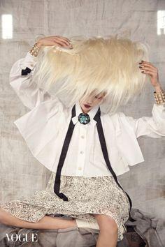 Soo Joo by Koo Bohn Chang for Vogue Korea Jan 2016