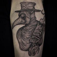 Thomas Bates Instagram (@thomasbatestattoo) Facebook (artoftombates) #tatouage #tattoo #oiseau #bird #blackwork
