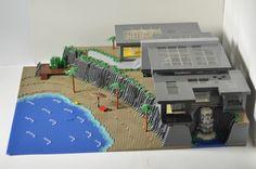 Large Beach House: A LEGO® creation by Michael Derr : MOCpages.com