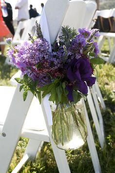 wedding ceremony decorations | Heather & Jerry's Green Wedding | Eco-Beautiful Weddings – The E ...