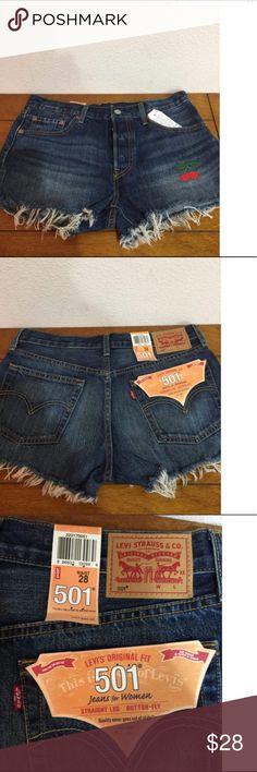 Levi shorts 501's Levi's Shorts Jean Shorts